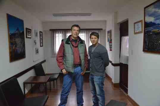 Alejandro y director LRA10