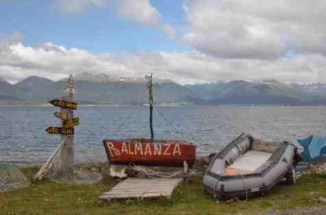 Puerto Almanza canal de Beagle