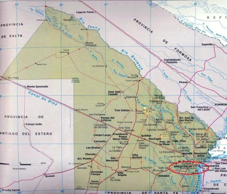 Chaco_Province_Map_Argentina_2
