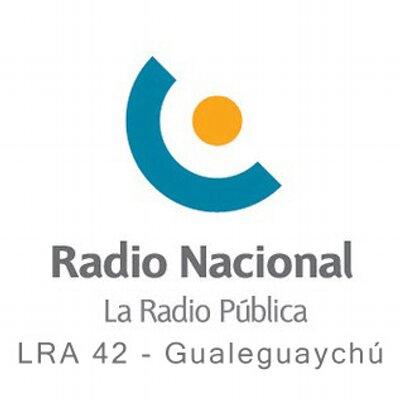 Resultado de imagen para radio nacional gualeguaychu