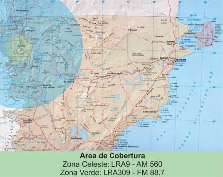 MAPA COBERTURA LRA9 LRA 309