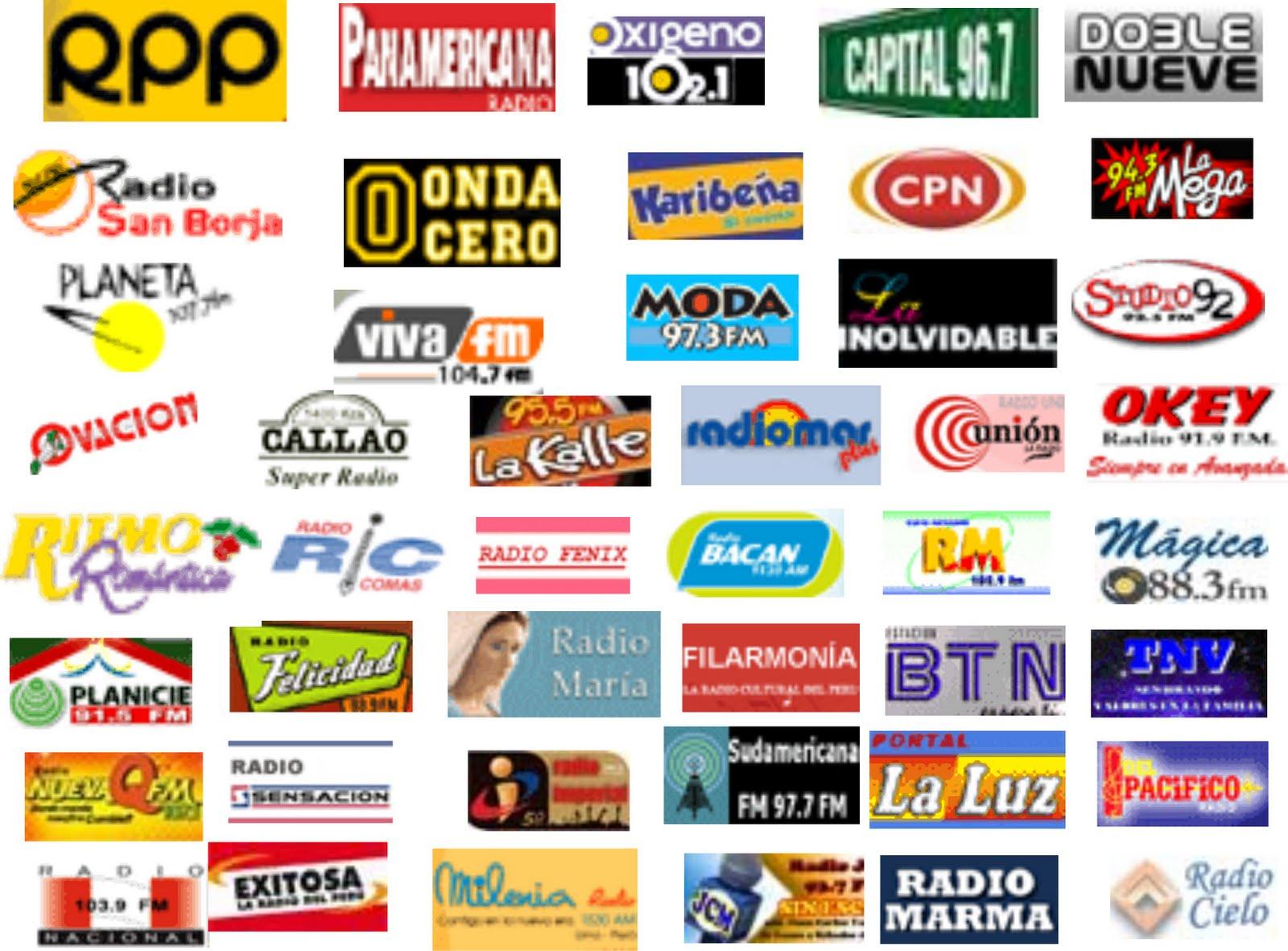 Peruanos en Todo el Mundo: RADIOS EN LIMA-PERU