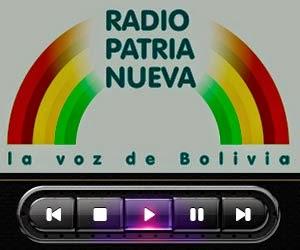 RADIOS DE BOLIVIA EN VIVO - ESCUCHA EMISORAS DE BOLIVIA: RADIO PATRIA NUEVA